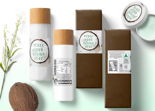 coconut-cream-bottle-labels-australia-box-tub